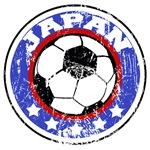 Japan Soccer (distressed)