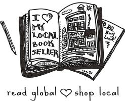 read globally | shop locally