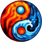 FIRE - WATER YIN - YANG
