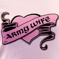 Army Wife Tattoo Heart