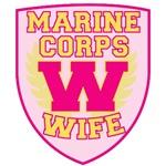 Super Marine Corps Wife Crest