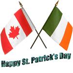 Canadian Irish St Patrick's Day