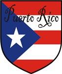 Puerto Rico Flag Shield