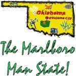 OK - The Marlboro Man State!