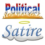 POLITICAL SATIRE ITEMS