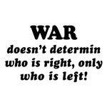 Saying: War Doesn't Determin