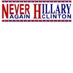 Never Again Hillary Clinton