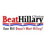 Beat Hillary (even Bill)