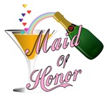 Champagne Toast Maid of Honor