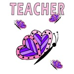 Teacher Butterfly Adorable Gifts & T-Shirts!