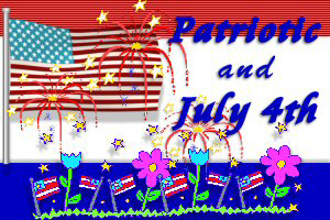 July 4th and Patriotic Tee's & Gifts!