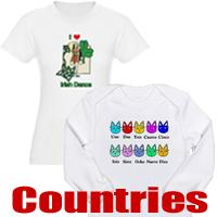 International t-shirts and gifts