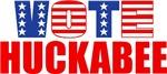 Vote Huckabee (Stars & Stripes)