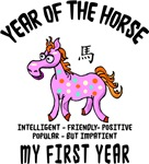 Born Year of The Horse Baby 2014 T-Shirts Gifts