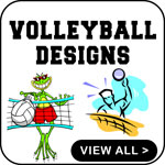 Volleyball T-Shirt Volleyball T-Shirts Designs