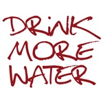 Drink More Water_Dark Red