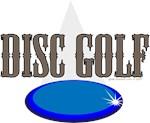 Disc Golf blue