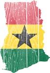 Ghana Flag And Map