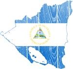 Nicaragua Flag And Map