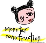 Monster Construction Doodle Color!