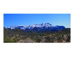 Superstition Panorama with Snow