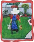 Young Girl in Garden