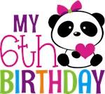 Panda 6th birthday