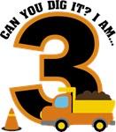 Dump Truck 3rd Birthday