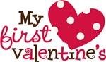 1st Valentines Day Heart