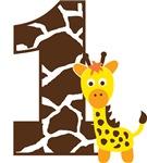 Giraffe 1st Birthday