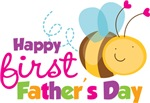 Bumblebee Happy 1st Fathers Day