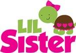 Girl Turtle Little Sister