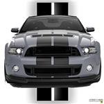 New Mustang GT Gray
