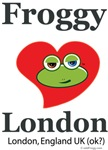 Froggy Loves (Hearts)  London