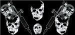skulls  tat machines www.heavyhitteracademy.com