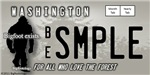 Bigfoot Research License Plate