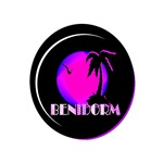 benidorm art illustration