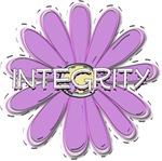 Integrity - Young Women Value LDS YW Purple Flower