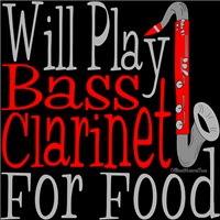 Will Play Bass Clarinet