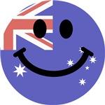 Australian flag smiley