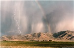Lightning & Rainbow