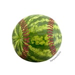 Baseball Watermelon