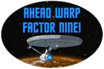 Ahead Warp Factor Nine!