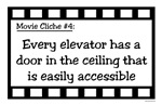 Movie Cliches - Elevator Ceilings