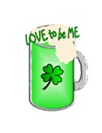 GREEN BEER FOR WOMEN - LOVE TO BE ME