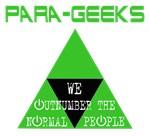 Para-Geeks Outnumber