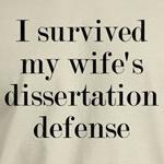 My Wife's Dissertation