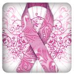 Breast Cancer Awareness Pink Ribbon