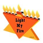 Funny Light My FIre Hanukkah