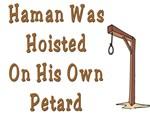 Haman was Hung Up